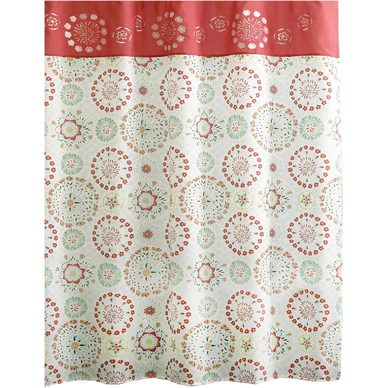 Essential Living Darla Shower Curtain