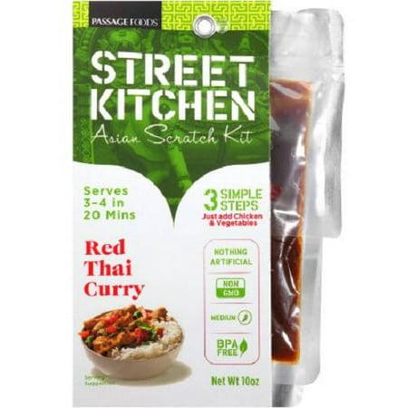 Street Kitchen Red Thai Curry Asian Scratch Kit 10 Oz