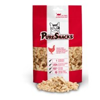 PureSnacks Chicken Breast Freeze Dried Cat Treats, 1.02 oz.
