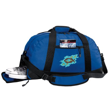 Broad Bay Gym Bags Duffle Bag With Cool Shoe Pocket