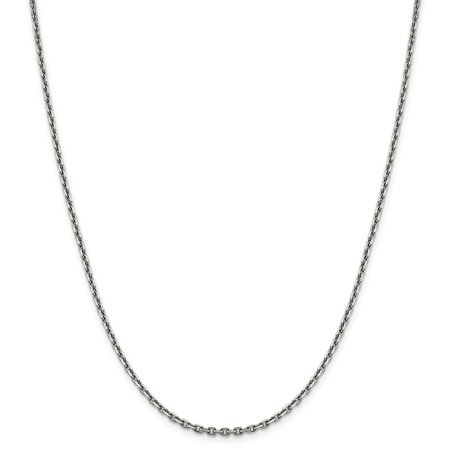 chains sterling gold necklace silver plated cable chain