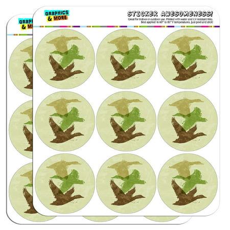 Flying Duck Design - Ducks Flying Design Hunting Hunter Camo 2