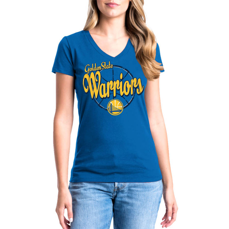 NBA Golden State Warriors Klay Thompson Women's Short Sleeve Player Tee