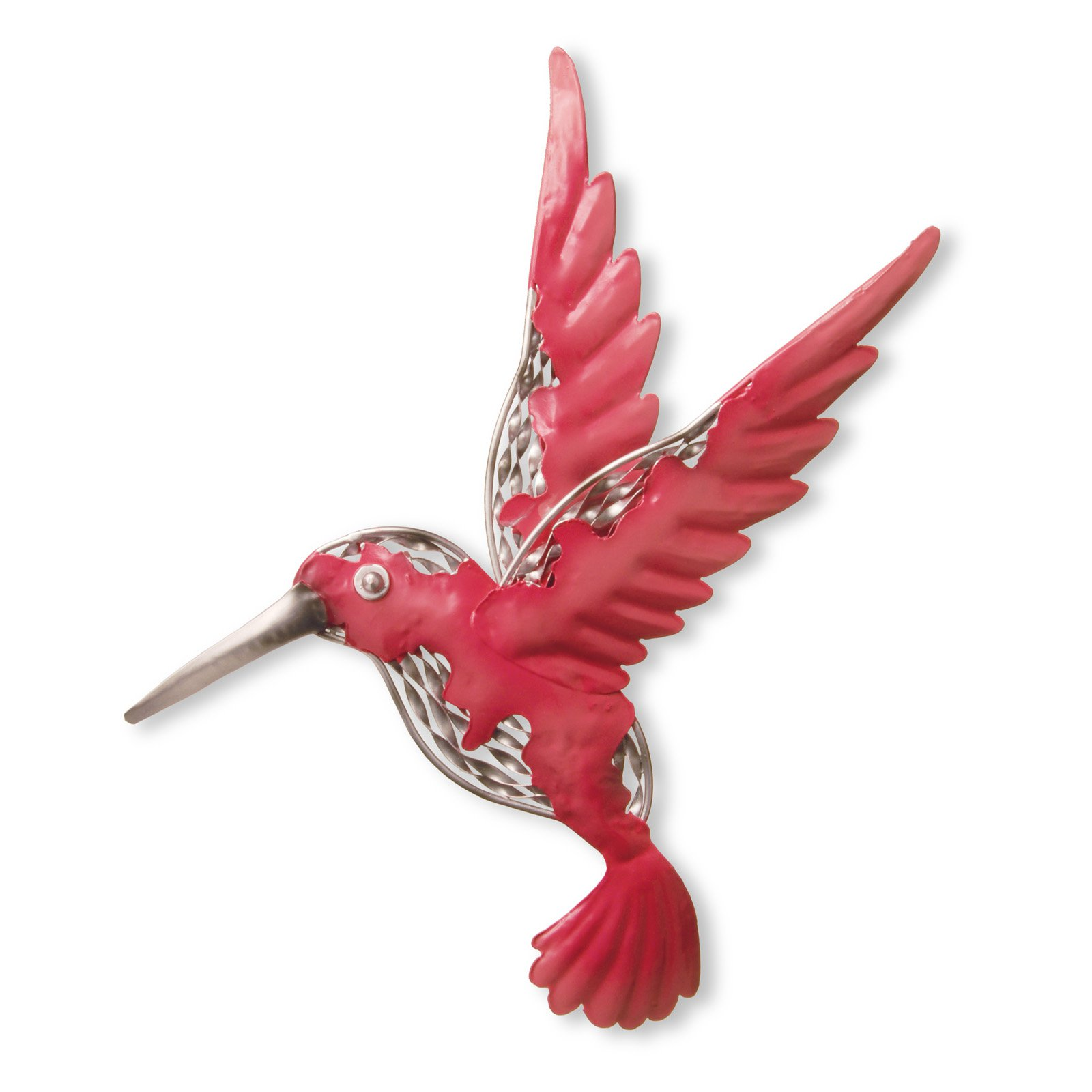 "16"" Pink Bird Wall Decoration"