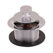 EZ-FLO 35233 Lift-N-Turn Bath Drain Assembly, 1-1/2 inch x 11.5 inch Coarse Thread, Chrome