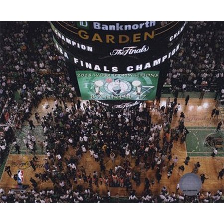 Td Banknorth Garden Game 6 Of The 2008 Nba Finals Celebration  28 Sports Photo