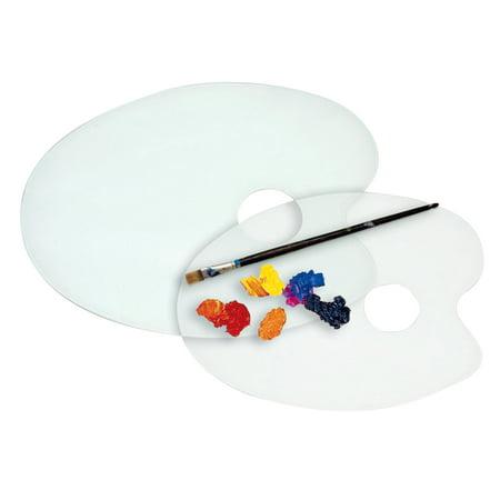Jack Richeson Plastic Acrylic Palette, 11 x 14 Inches, (Alvin Rectangular Plastic Palette)