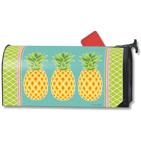 Mailwraps Pineapples (Magnet Works MailWrap - Preppy Pineapple )