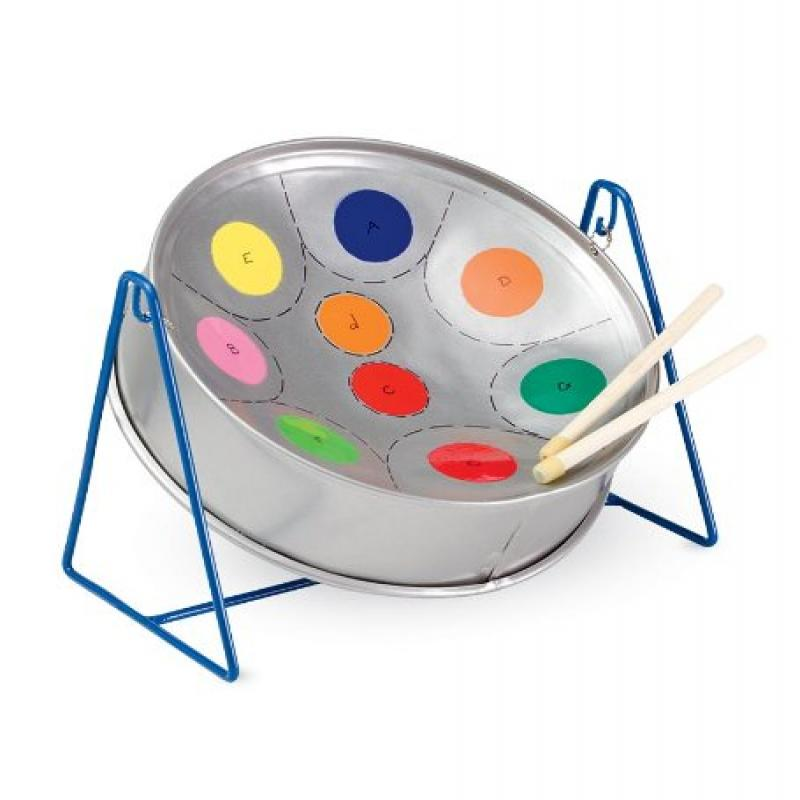Rainbow Piti Steel Pan Drum