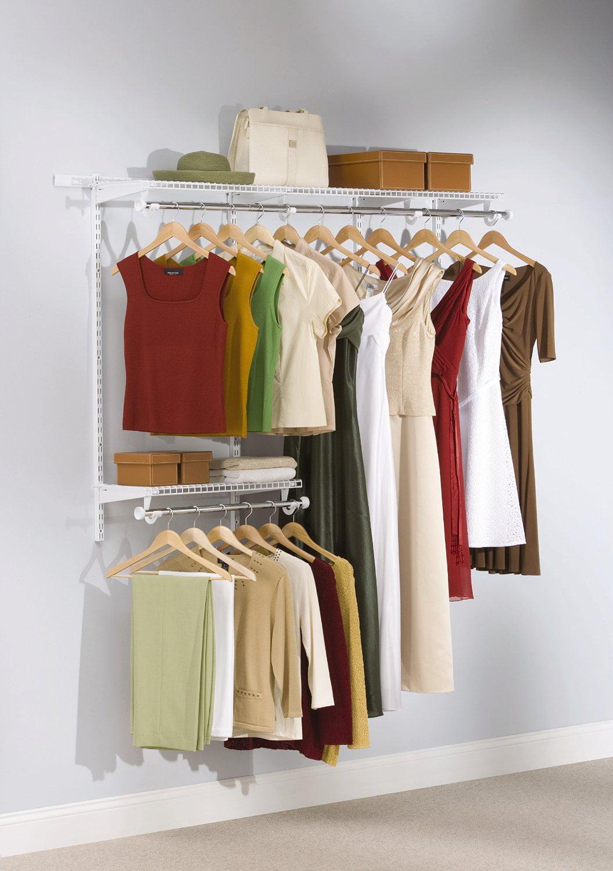 Rubbermaid Configurations Closet Kits, 3 6 Ft., White