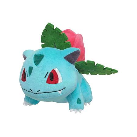 Studded Star (Sanei Pokemon All Star Collection-PP76-Ivysaur Stuffed Plush, 5.5 )