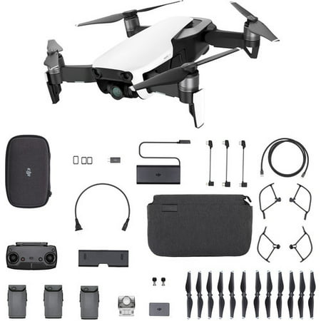 DJI Mavic Air Drone Fly More Combo in Arctic Whie
