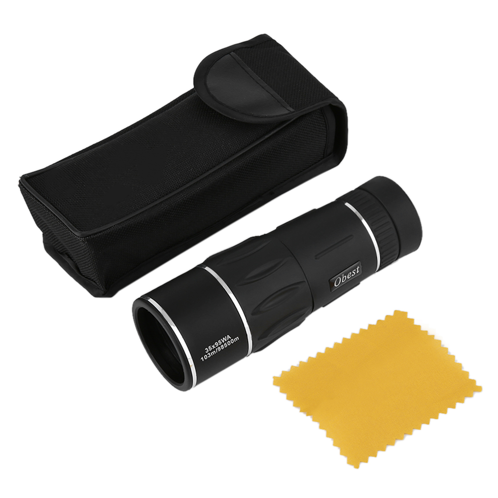 Hunting Monocular Big Eyepiece Telescope 35X95 for Camping Watching Travel by