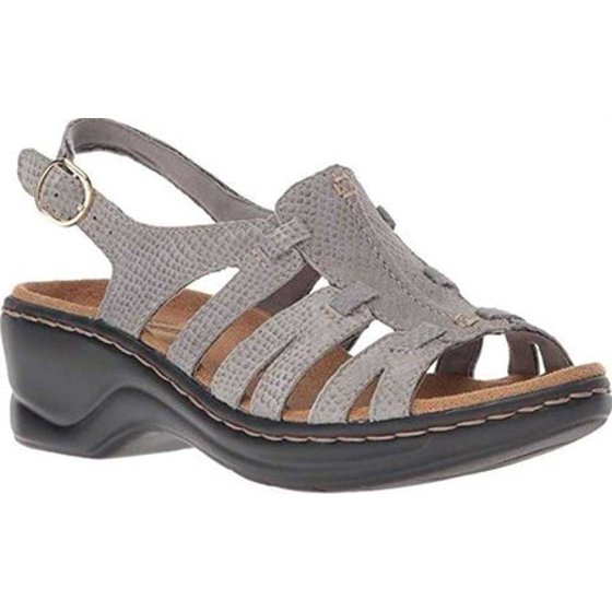 52a66f381ecd0 The OrthoLite insole of the sandal is highly breathable and comfortable for  your foot. Women s Clarks Lexi Marigold Sandal