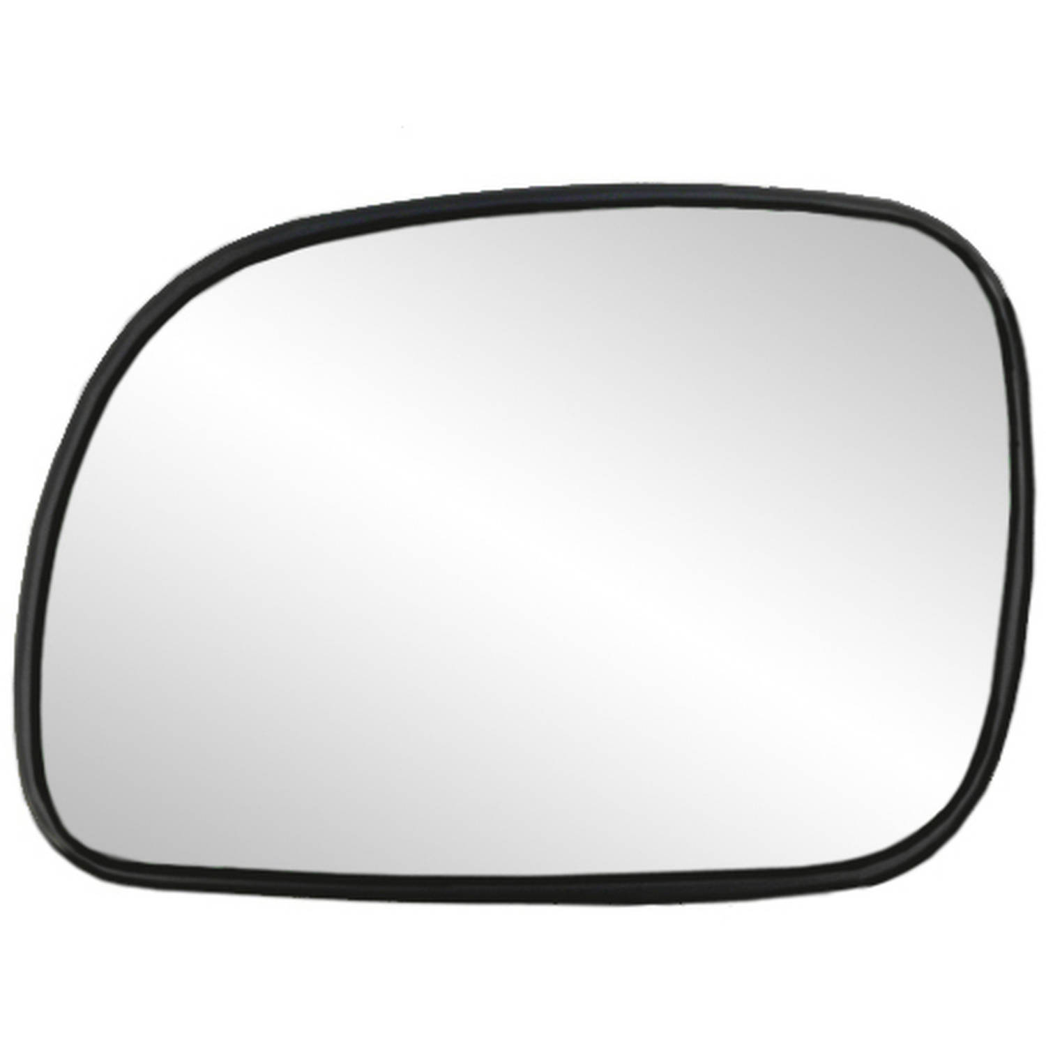 33013 - Fit System 96-04 Chrysler Town & Country and Voyager / Dodge Grand Caravan Heated Replacement Mirror Glass with backing plate, Driver Side - check description for fitment