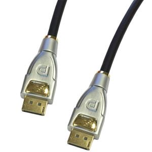 5-652M-3 Display Port Cable 4K Metal Ends 3-FT (Display Electronic)