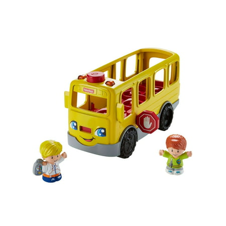 Little People Sit With Me School Bus with Lights, Sounds & - Little Farmhouse Toy
