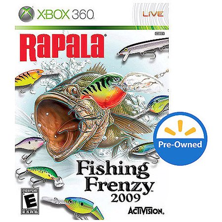 Rapala fishing frenzy xbox 360 pre owned game only for Rapala fishing frenzy 2009