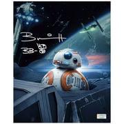 Brian Herring Autographed Star Wars: The Last Jedi BB-8 8x10 Photo
