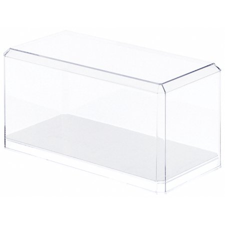 Clear Acrylic Display Cases (With Mirror) For 1:24 Scale Cars - 9