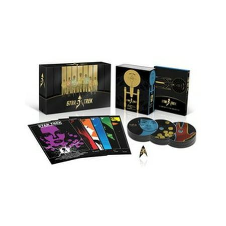 Star Trek 50th Anniversary TV & Movie Collection (Blu-ray) - Star Trek Movie Uniforms