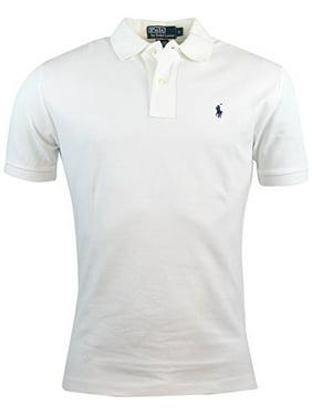 42d0ce78 Product Image Men's Polo Ralph Lauren Mesh Custom Fit Polo White (M) W55