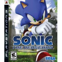 Sonic The Hedgehog, Sega, PlayStation 3, 010086690019