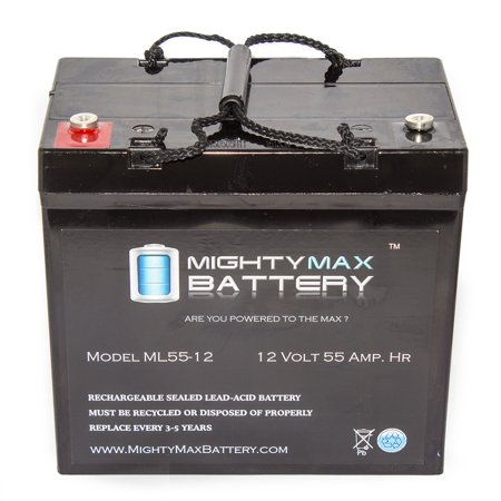 12V 55AH Internal Thread Battery for FORTRESS CHAMPION WINNER