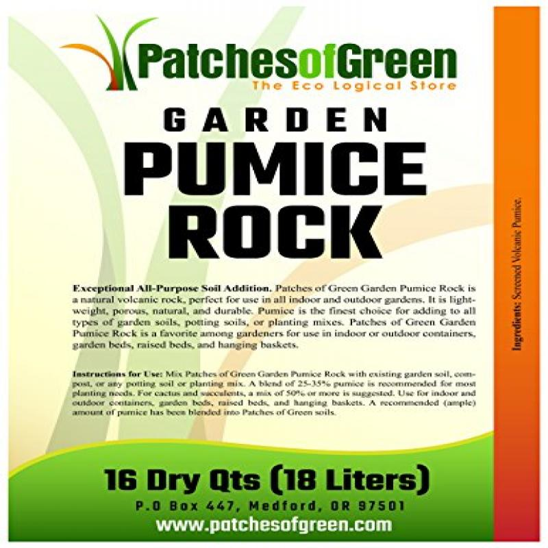 Volcanic Garden Pumice Rock From Patches Of Green 16 Dry Quarts