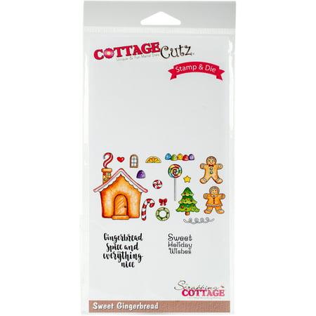 Cottagecutz Dies (Cottagecutz Stamp & Die Set Sweet Gingerbread )