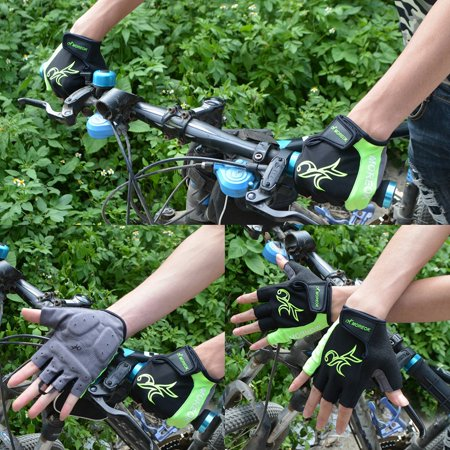 Outdoor Women Road MTB Bike Bicycle Cycling Outdoor Sports Half Finger Gloves - image 1 de 7