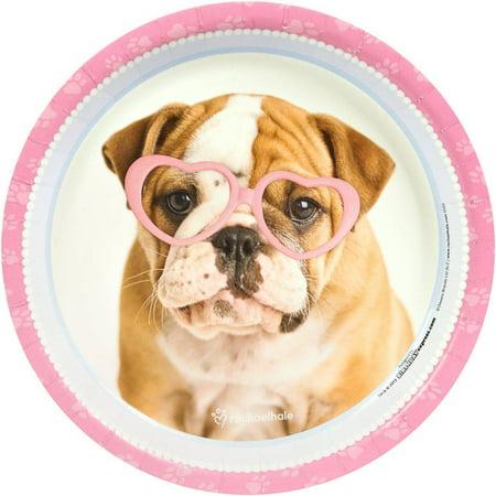 rachaelhale Glamour Dogs Dinner Plates, 8pk