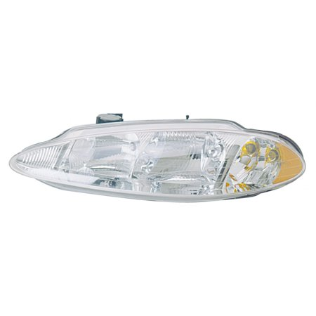 KarParts360: Fits 2000 2001 DODGE INTREPID Head Light Assembly Driver (Left) Side w/Bulbs Replaces