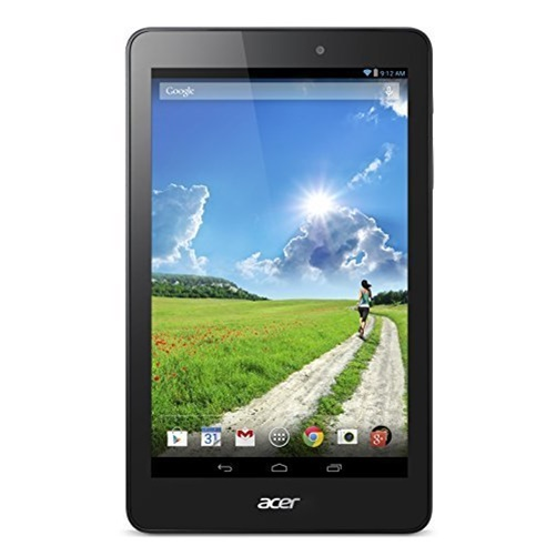 "Acer Iconia B1-810 with WiFi 8"" Touchscreen Tablet PC Featuring Android 4.4 (KitKat) Operating System, Black"
