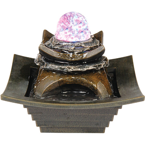 "ORE International 7"" Fountain with LED Light"