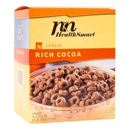 HealthSmart - High Protein Diet Cereal - Rich Cocoa - 15g Protein - Low Calorie - Low Carb - Low Fat - Gluten Free -