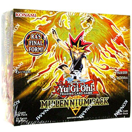 Konami Yu-Gi-Oh Millennium Pack 1st Edition Booster