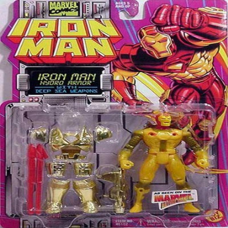 Iron Man Hydro Armor Animated Series Action Figure