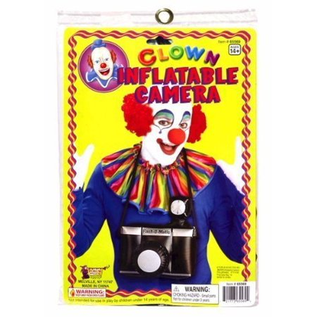 Clownin' Around - Clown Inflatable Camera, For 14+ - Inflatable Camera