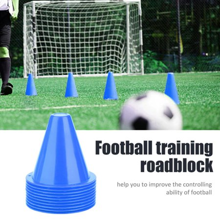 10pcs Soccer Training Cone Football Barriers Plastic Marker Holder Accessory,Soccer Training Cone, Football Training Holder