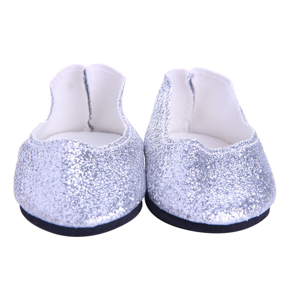 Flash Powder Shoes Dress Shoe For 18 inch Our Generation American Girl Doll