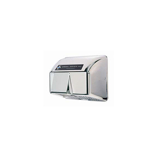 Excel Dryer Automatic Surface Mounted 110 / 120 Volt Hand Dryer in Chrome