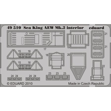 1/48 Aircraft- Sea King AEW Mk II for HSG (Painted Self Adhesive)