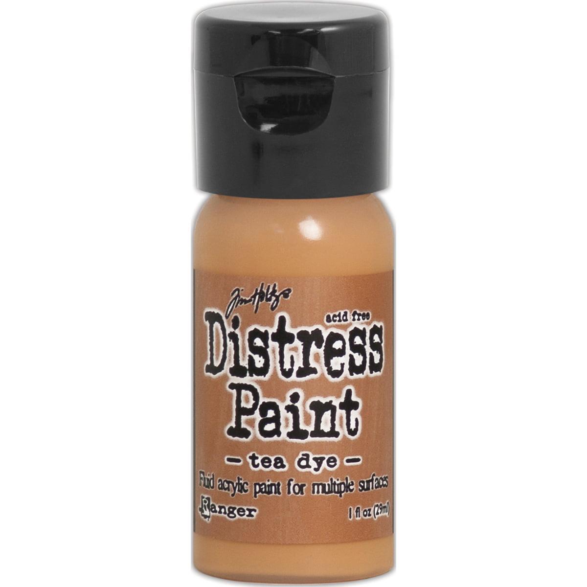 Distress Paint Flip Top 1oz-Tea Dye
