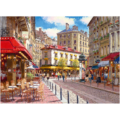 Ravensburger Quaint Shops Puzzle, 500 Pieces