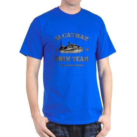 c9928ca5bdf CafePress - ALCATRAZ SWIM TEAM T-Shirt - 100% Cotton T-Shirt - Walmart.com