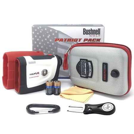 Bushnell Tour V4 Shift Laser Golf Rangefinder (Patriot