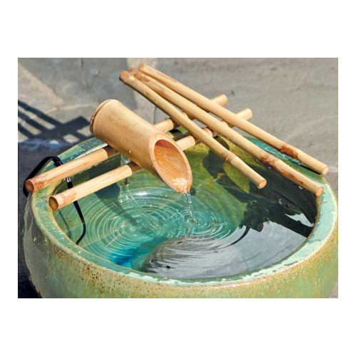 Bamboo Accents 18-in. Five Arm Spout and Pump Fountain Kit