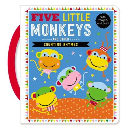 Touch and Feel Five Little Monkeys and Other Counting Rhymes - Halloween Party Ideas Touch And Feel