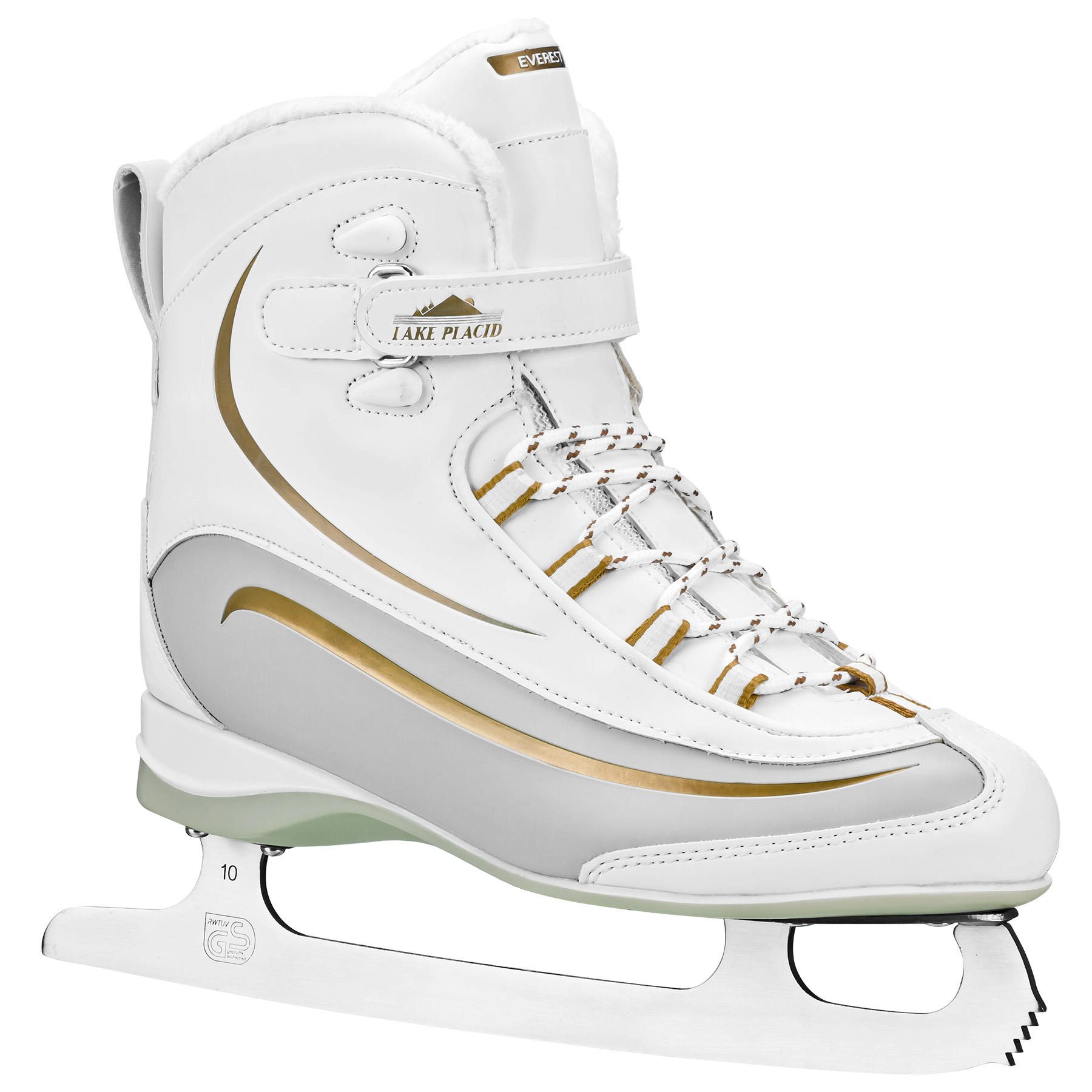 Ice Skates Figure Skating Living On The Edge Metal Vanity Tag License Plate